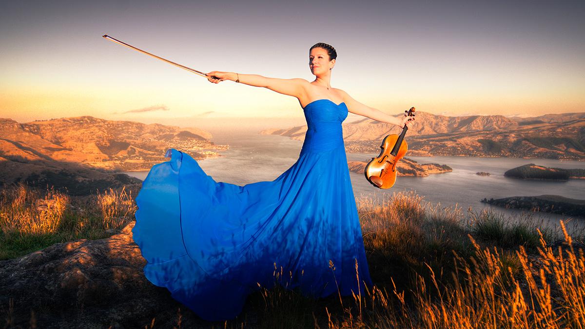 Violinist Bryony Gibson-Cornish